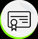 Icono certificado médico